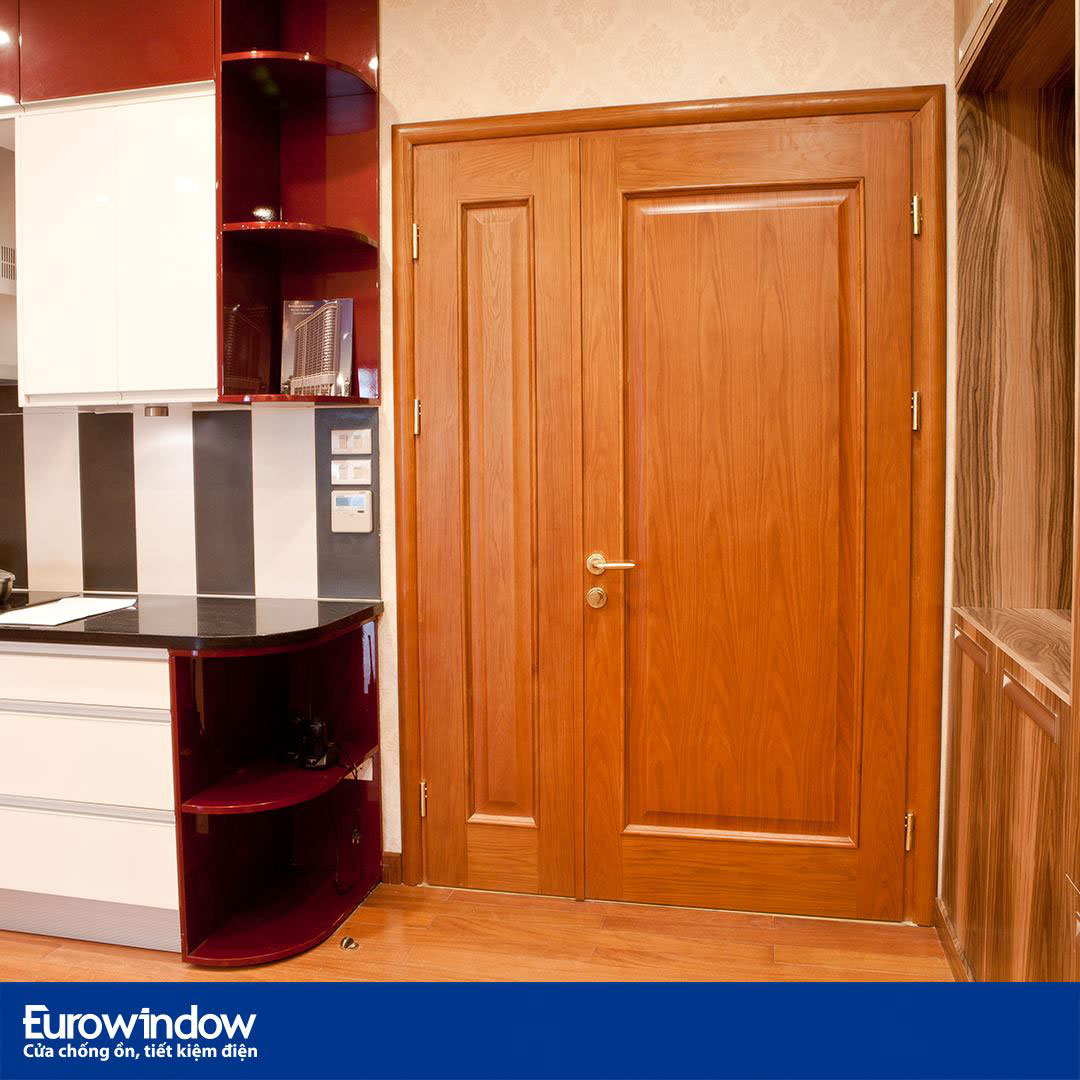 Cửa gỗ hỗn hợp - Cửa gỗ Eurowindow