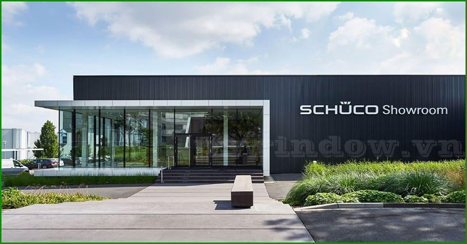 Cửa nhôm Schuco nhập khẩu CHLB Đức