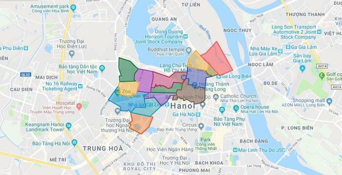 Lắp cửa Eurowindow tại Ba Đình - Hà Nội